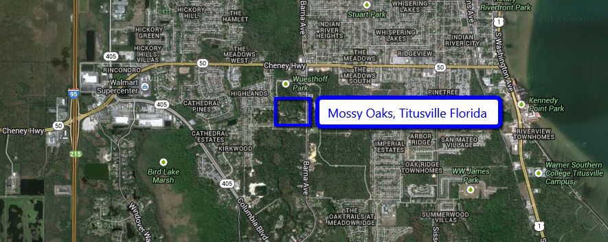 Mossy Oaks in Titusville Florida